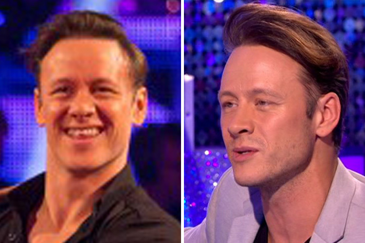 Kevin Clifton Hair