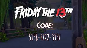 Mappe Horror Fortnite Code
