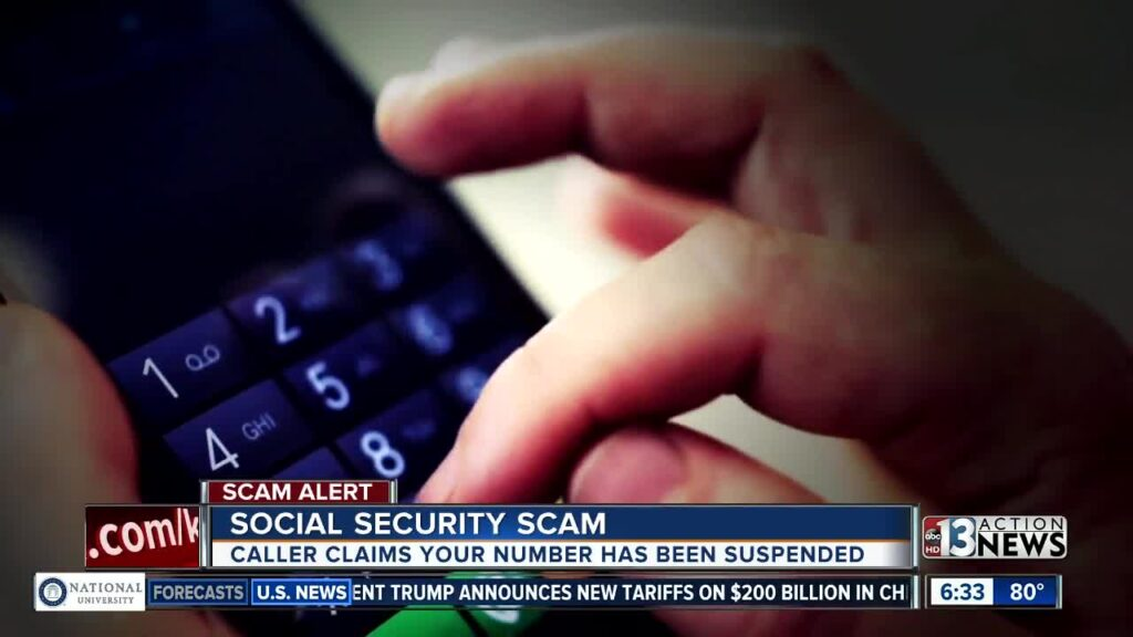 Scam Call About Social Security Number