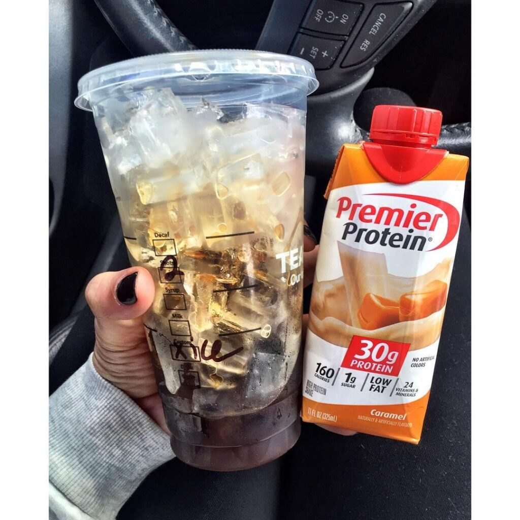 Premier Protein Coffee Hack