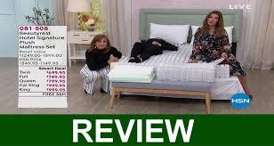 Beautyrest Hotel Signature Plush Mattress Reviews