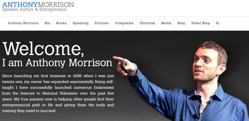 Anthony Morrison Reviews