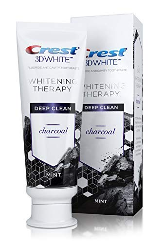 Crest charcoal toothpaste review