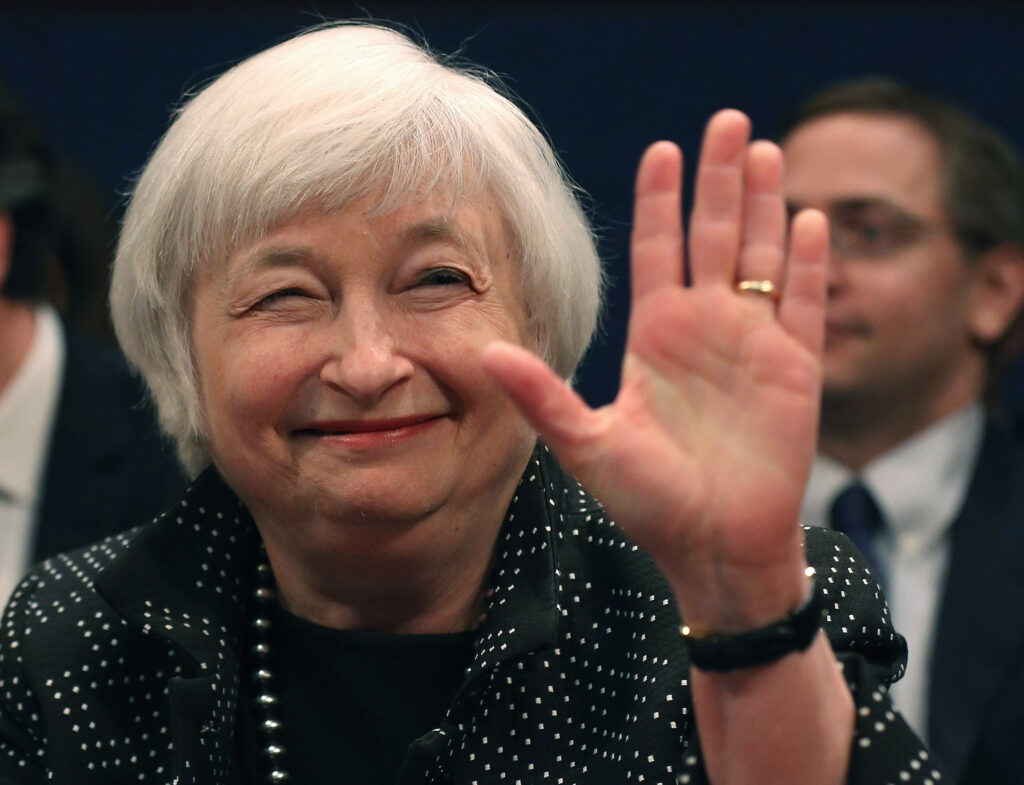 Janet yellen net worth