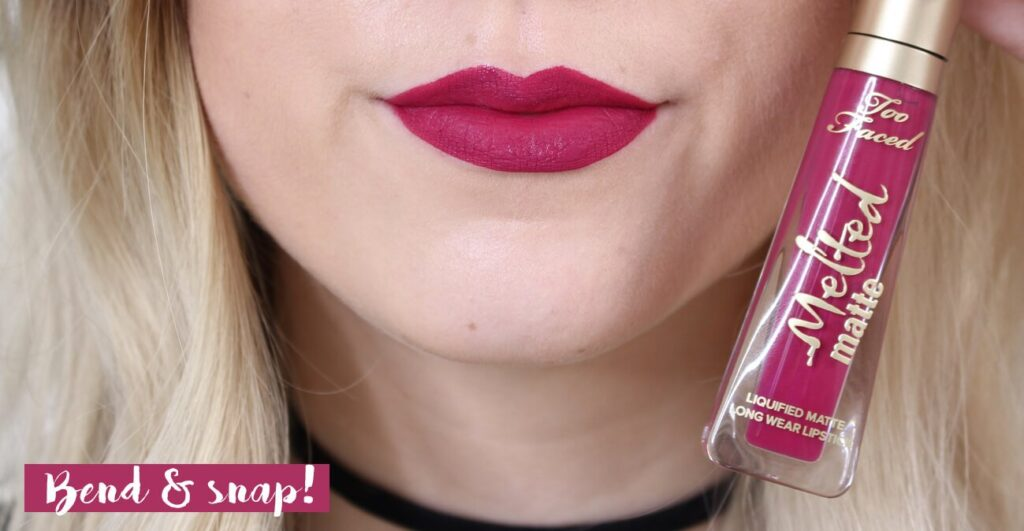 Too faced bend and snap review