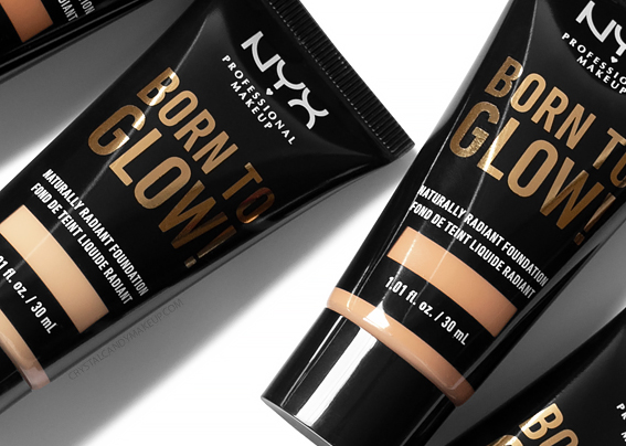 Nyx born to glow foundation review