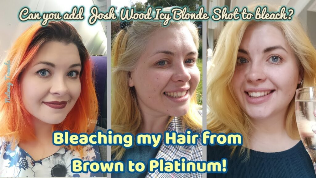Josh wood icy blonde gloss review