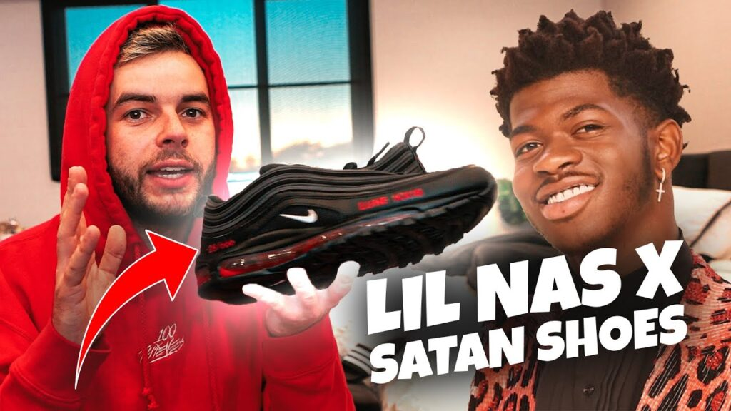 Lil nas x satan shoes where to buy