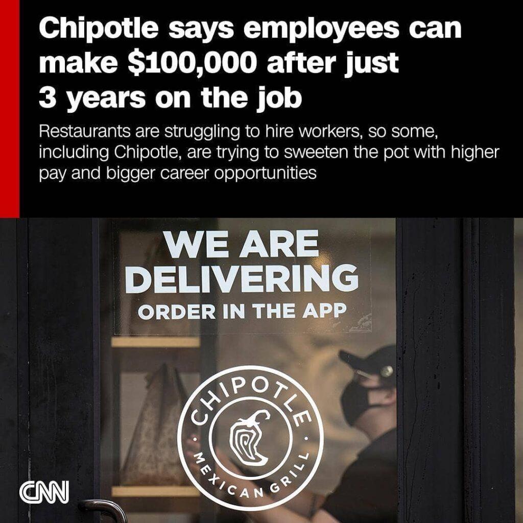 Chipotle salary