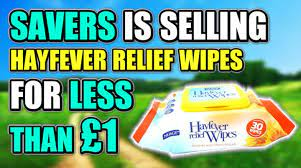 Nuage Hayfever Relief Wipes Reviews