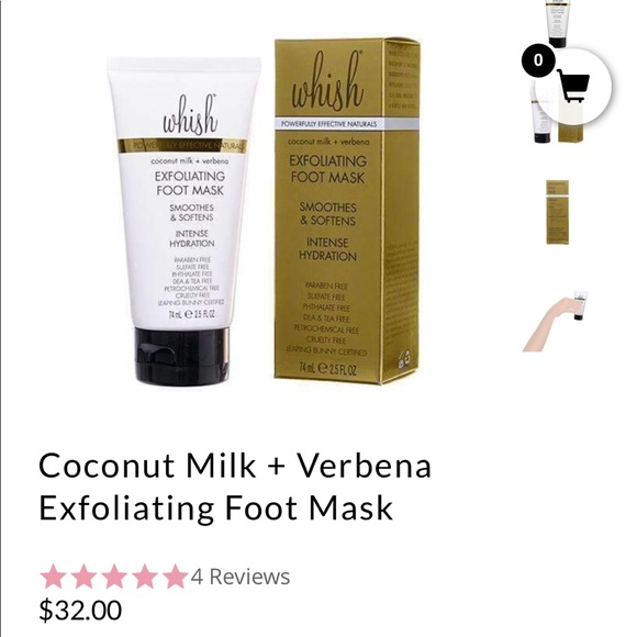 Whish Exfoliating Foot Mask Review