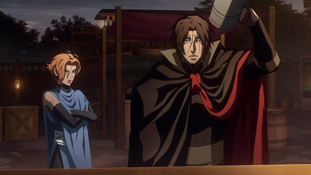 Trevor and Sypha son