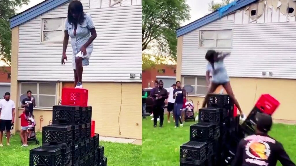 Woman Dies From Crate Challenge