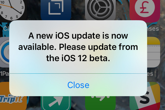 How To Stop Ios Update Notification