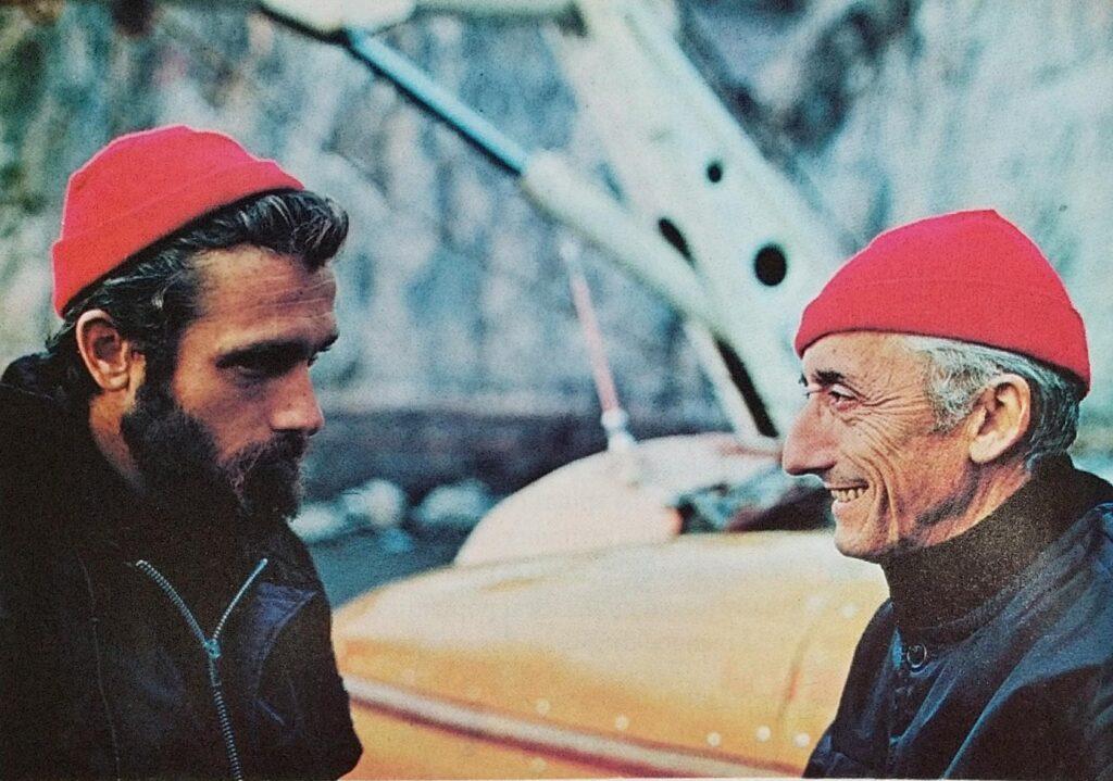 Jacques Cousteau Son
