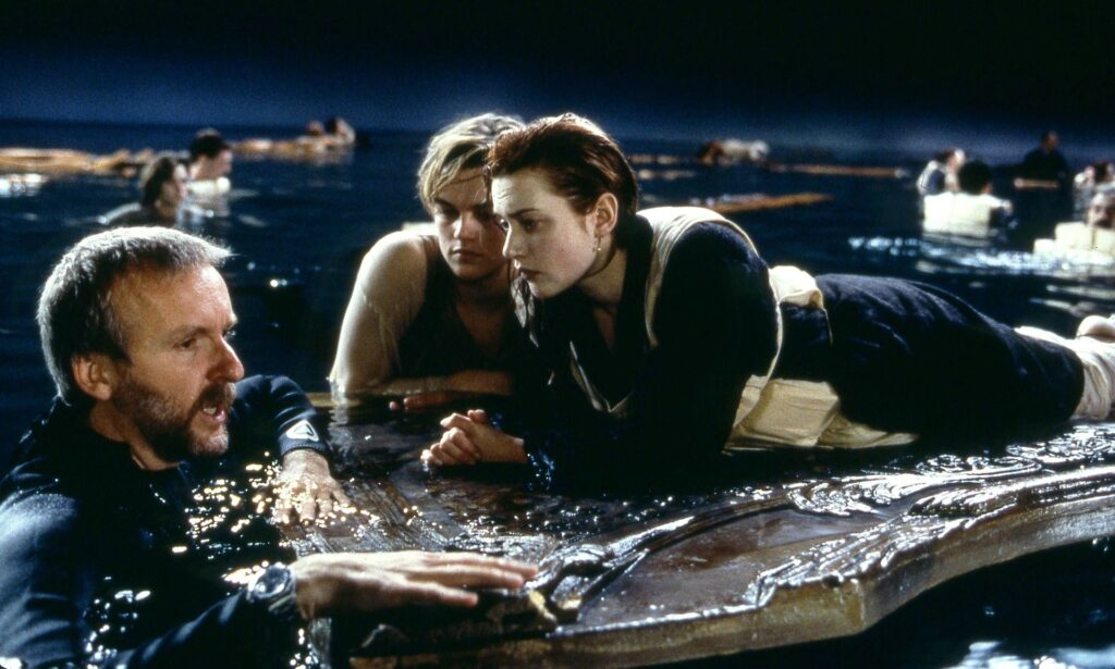Character From Titanic Holding Up Duck